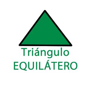 Triángulo equilátero | Calcular área del triángulo equilátero