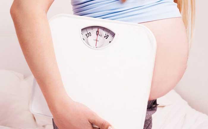 Cómo vigilar el aumento de peso en el embarazo