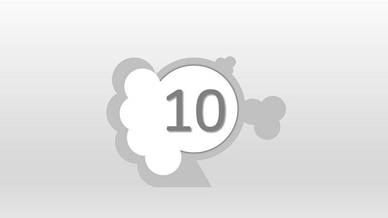 Interpretación del número 10