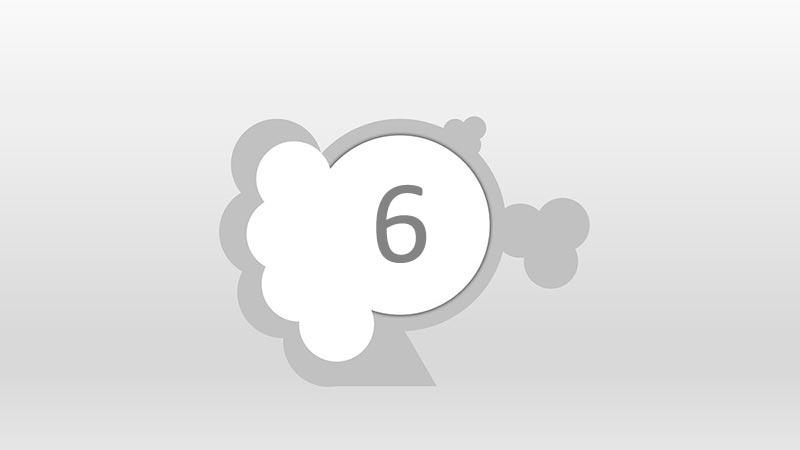 Interpretación del número 6