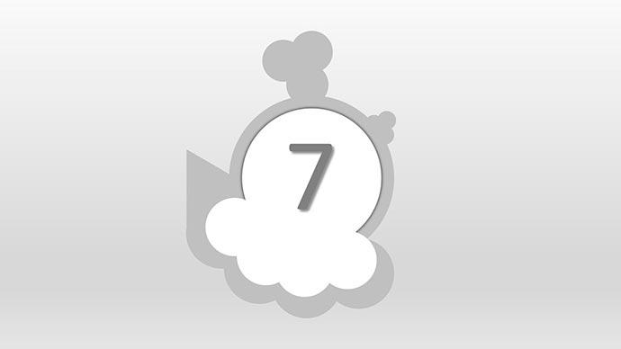 Interpretación y características del número 7