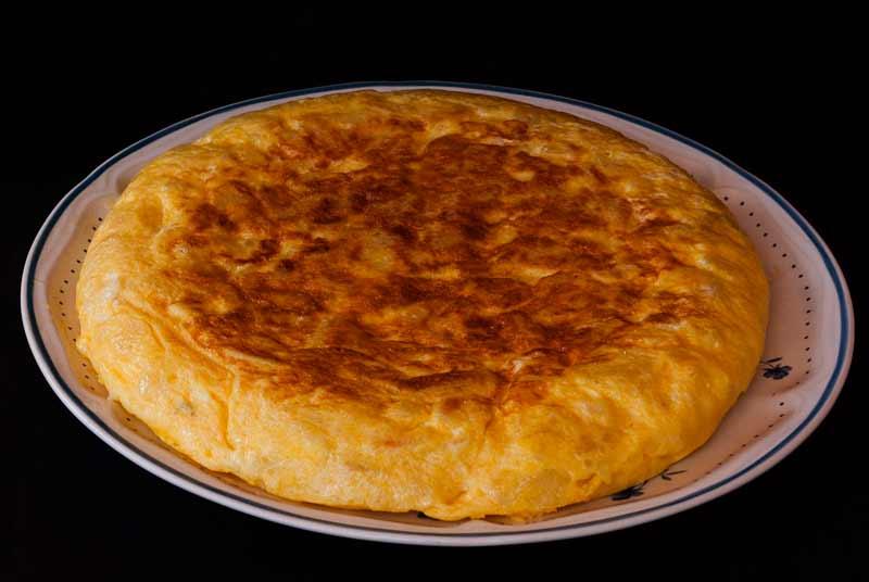 Calorías de la tortilla española