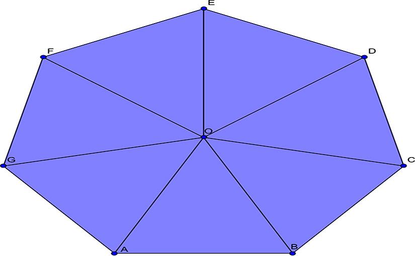 Cuántas Diagonales Tiene Un Heptágono Diagonales De Un Heptágono