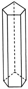 Ejemplo de prisma pentagonal