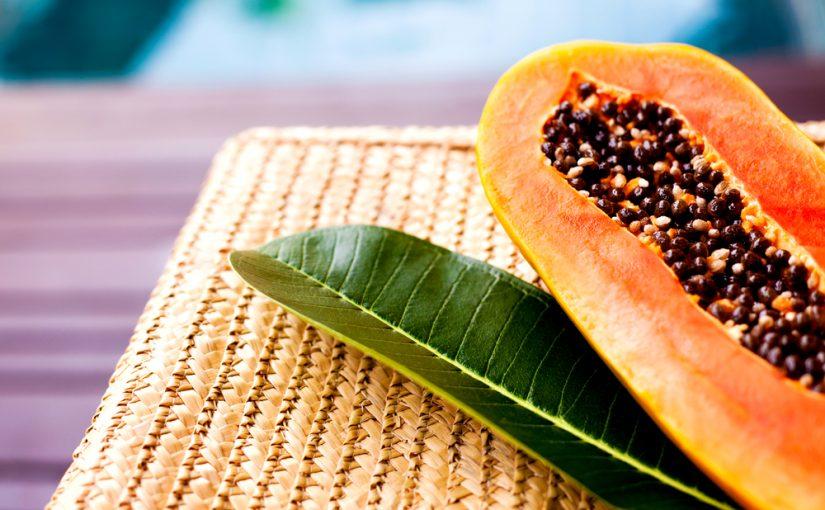 Cantidad de calorías por papaya