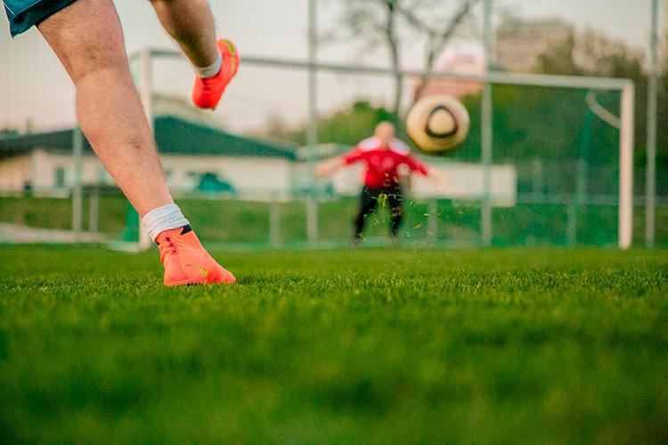 Tamaño área chica de fútbol