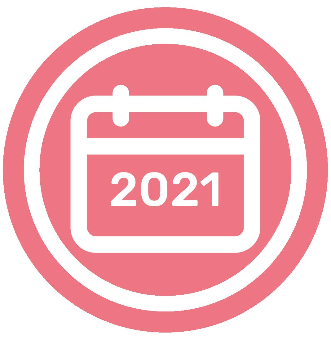 Calendario 2021 | Calendario 2021 para imprimir por meses